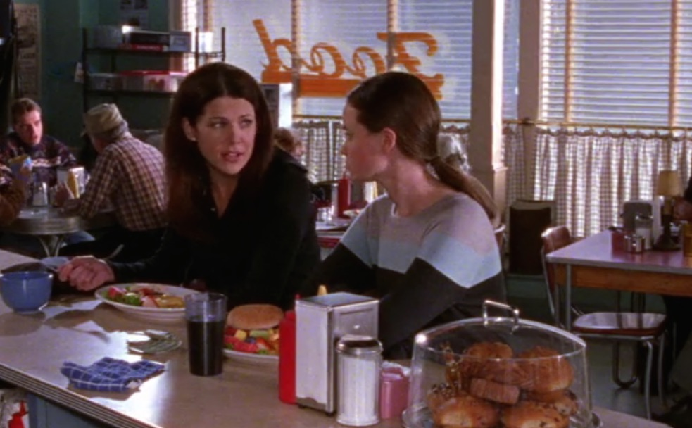 "Here's one thing you never noticed about Luke's Diner on ""Gilmore Girls"""