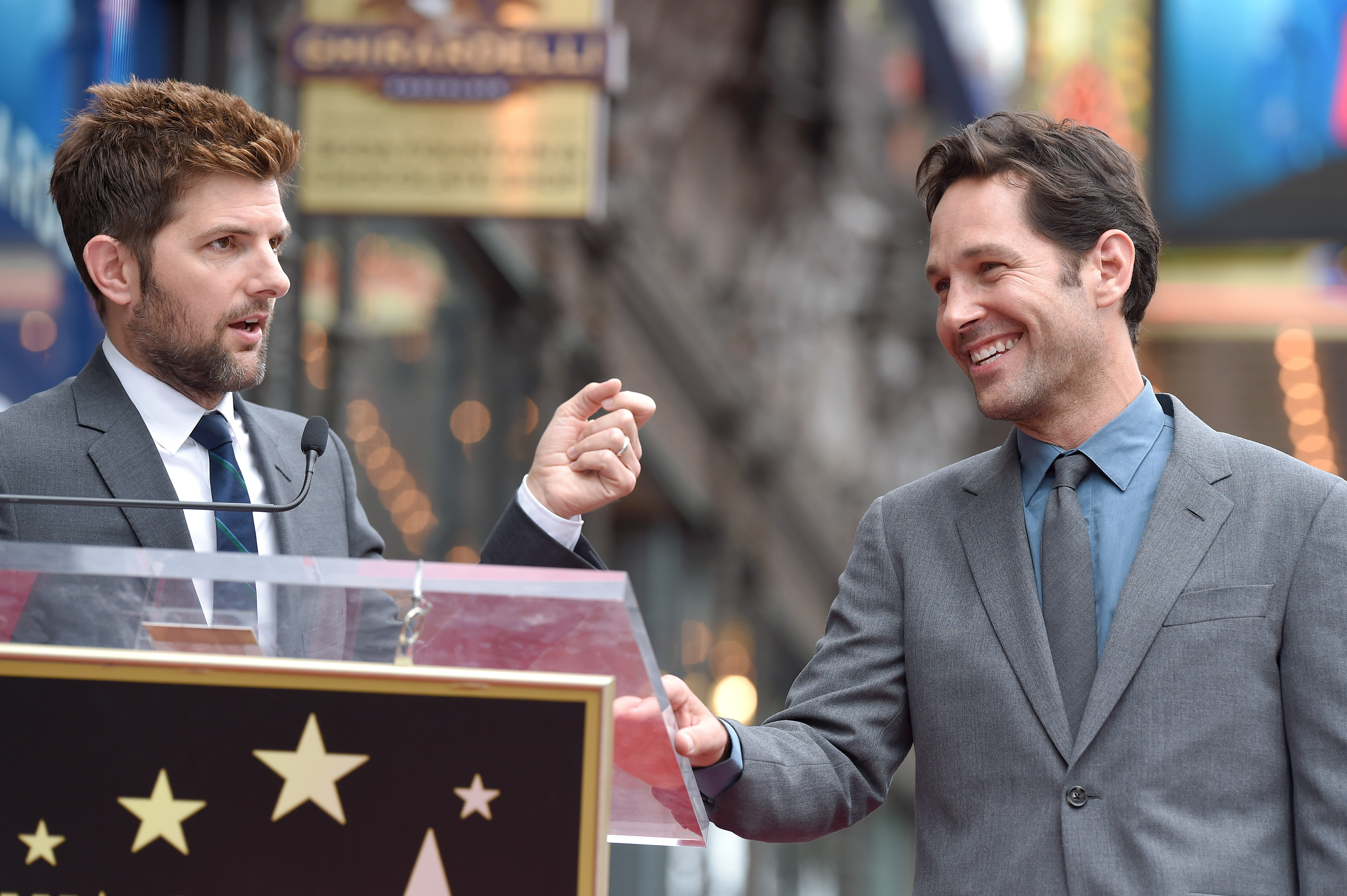 Photographic proof that Paul Rudd and Adam Scott have not aged in the last ten years