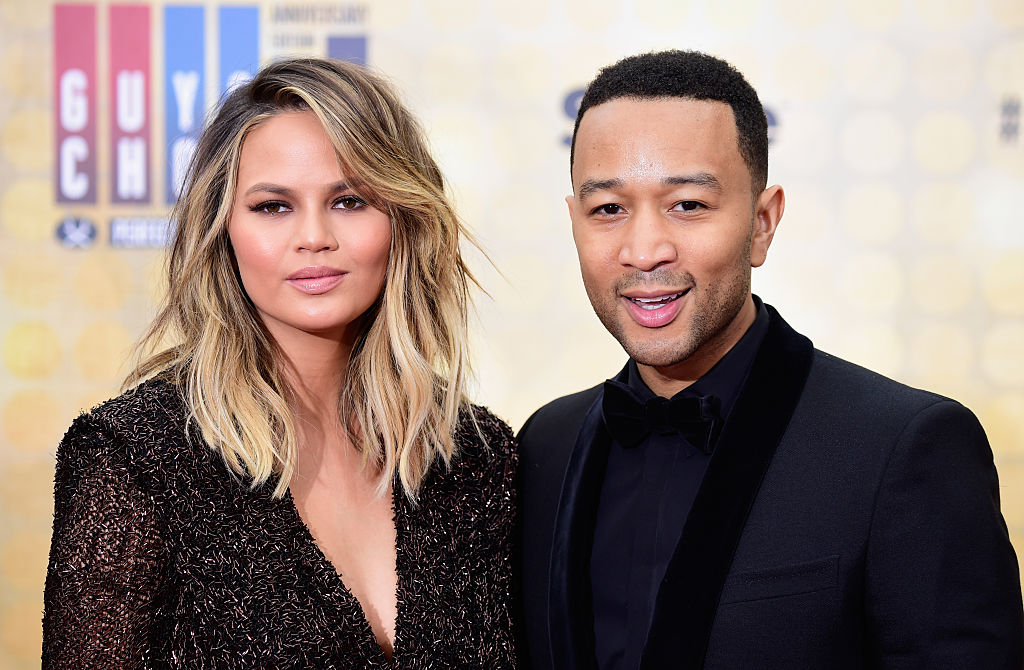 Chrissy Teigen, John Legend, and Gigi Hadid gave us all the #squadgoals at the Guys' Choice Awards