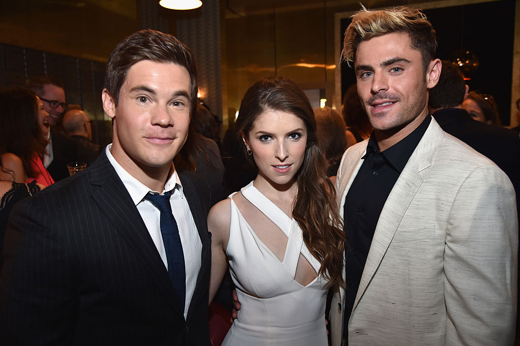 Anna Kendrick, Zac Efron, and Adam DeVine had the BEST time at the Guys' Choice Awards