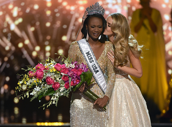 Our new Miss USA is an Army officer and she totally nailed last night's pageant questions