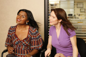 """Mindy Kaling's """"The Office"""" throwback with Ellie Kemper is our everything"""