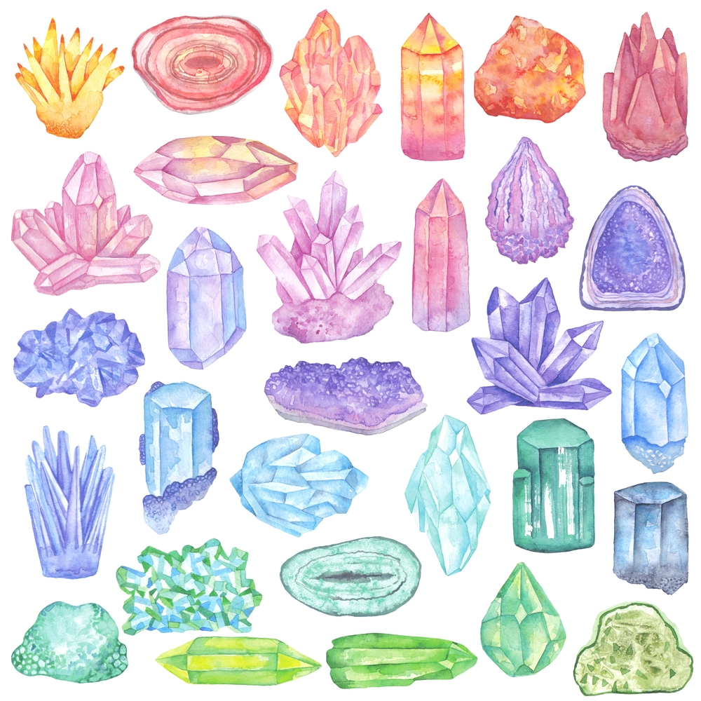 Crystals & Gems - cover