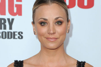 """Big Bang Theory's"" Kaley Cuoco kisses the two loves of her life in latest Instagram"