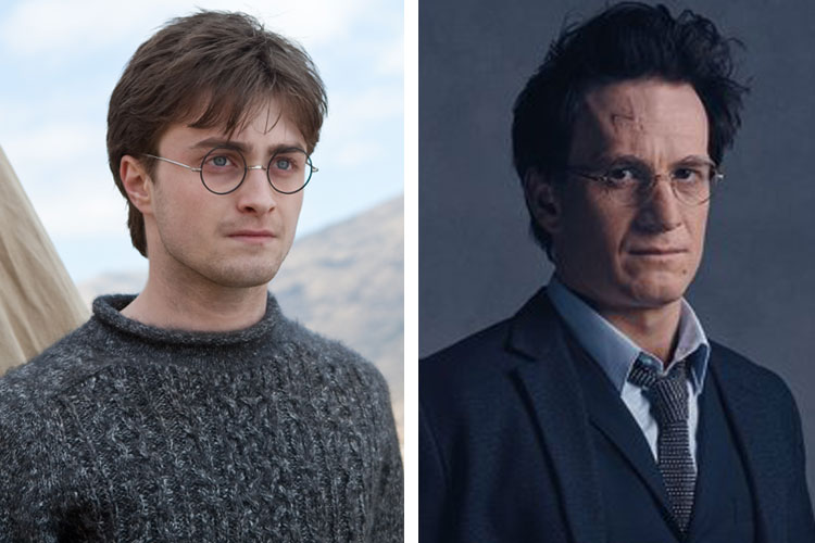 "What the ""Harry Potter"" cast looked like in the last movie vs. the play"