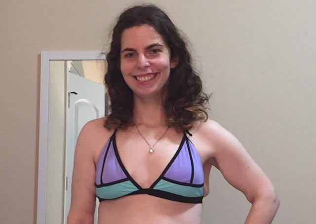 Why this woman's first-ever bikini photo is taking over the internet