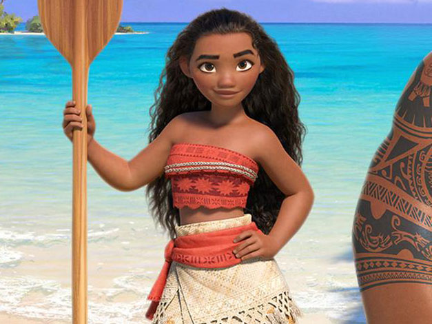 """Disney's first official poster for their latest butt-kicking princess """"Moana"""" is here"""