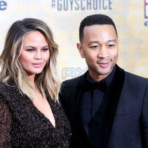 Chrissy Teigen and John Legend hung out with Hillary Clinton because of course they did