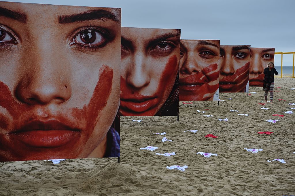 These powerful images show how Brazil is fighting violence against women