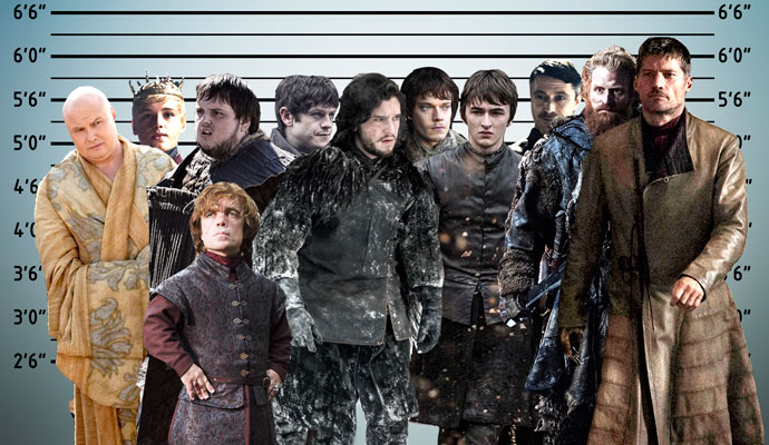 """In case you were curious, this is how tall the men of """"Game of Thrones"""" actually are"""