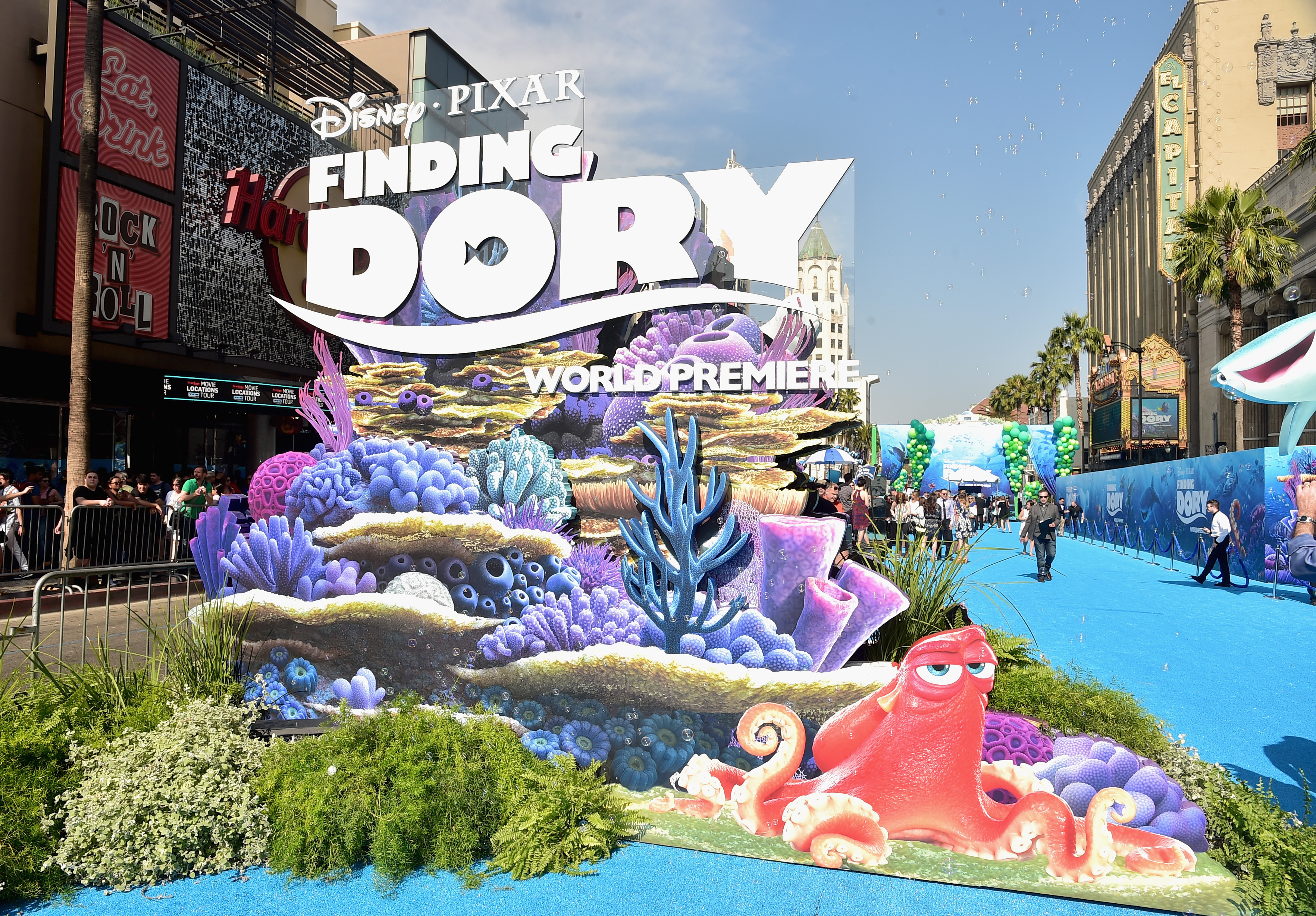 """The """"Finding Dory"""" premiere was basically our dream childhood birthday party"""