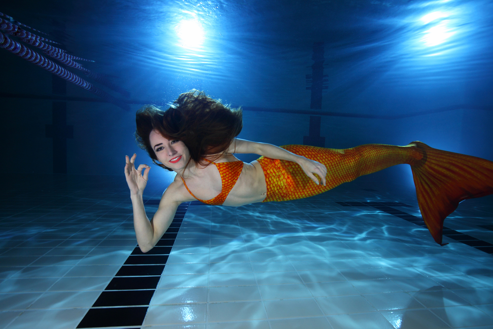 This mermaid fitness class is our dream workout and it's REAL