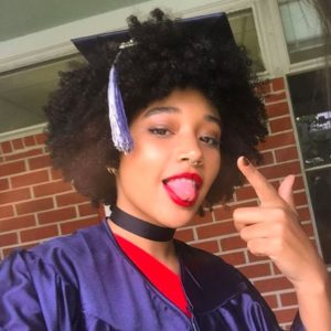 Amandla Stenberg shows us how to ~slay~ at high school graduation