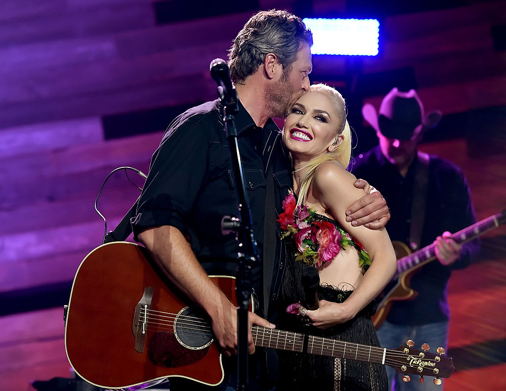 Gwen Stefani gushed about her relationship with Blake Shelton again, because we can't get enough