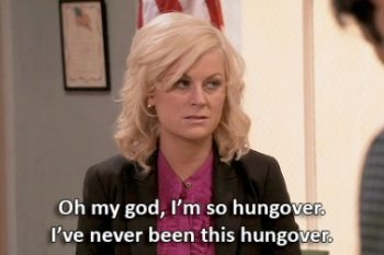 Don't go to the gym when you're hungover — seriously
