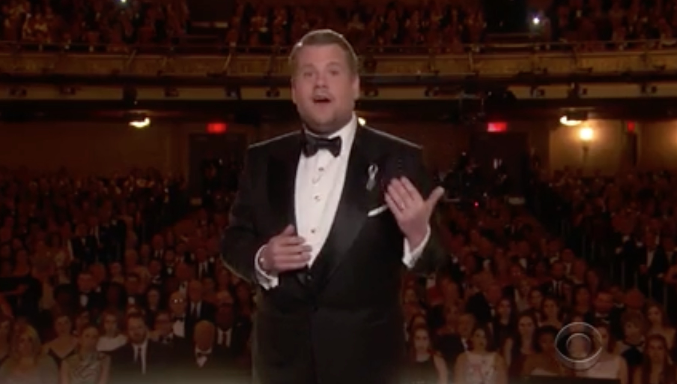 Watch James Corden's beautiful tribute to the victims of the Orlando shooting