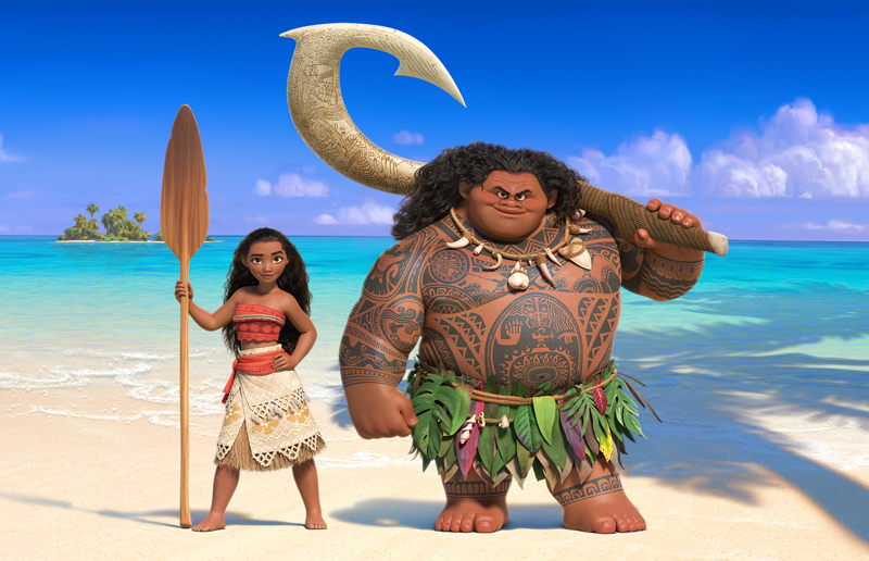 """The first """"Moana"""" trailer is here, and we're obsessed with Disney's new Polynesian princess"""