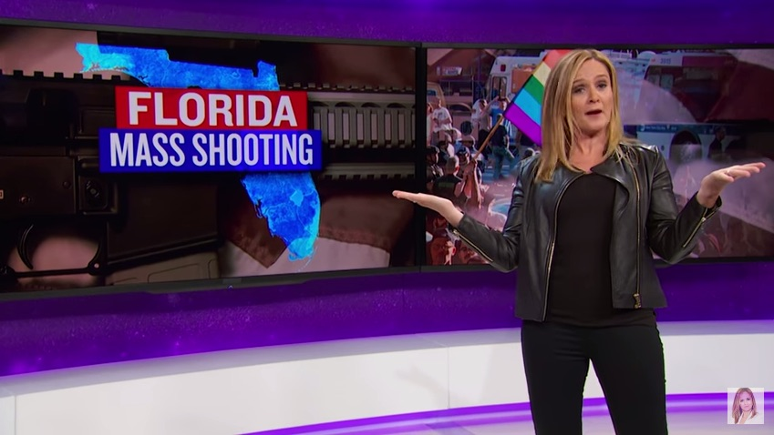 Samantha Bee had this powerful thing to say about gun control