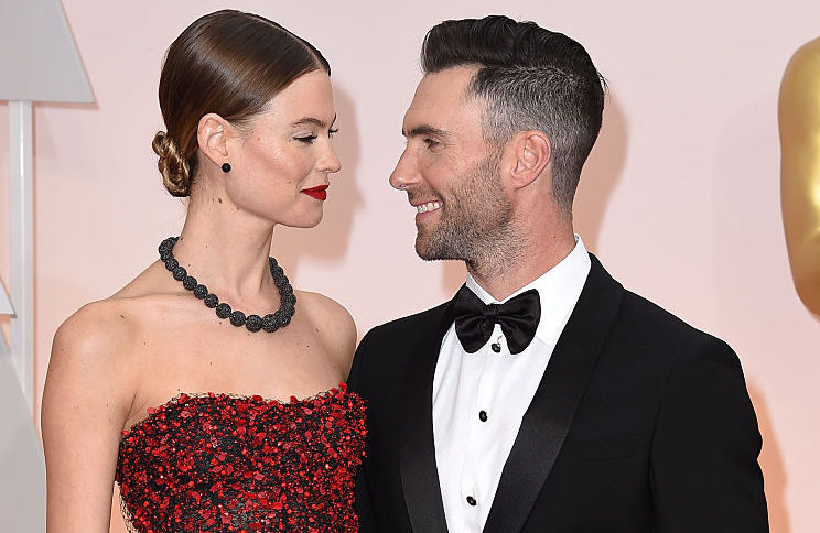 Adam Levine's daughter Dusty Rose just made her ~red carpet~ debut, sort of