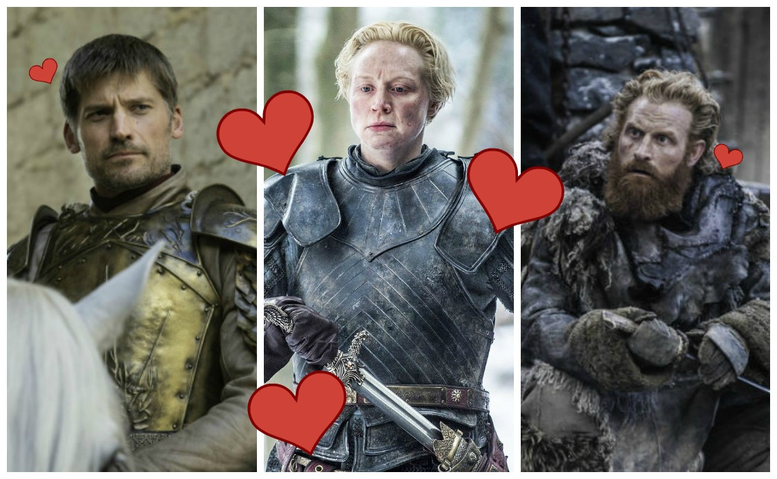"Oh gosh, could we be looking at a ""Game of Thrones"" love triangle?"