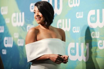 We just can't get enough of Gina Rodriguez's bronzed beach goddess look, you guys