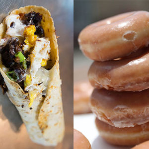 "So there's something called a ""doughrito,"" and it's exactly what it sounds like"