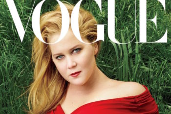 """Amy Schumer appears on the cover of """"Vogue"""" and switches lives with Anna Wintour"""