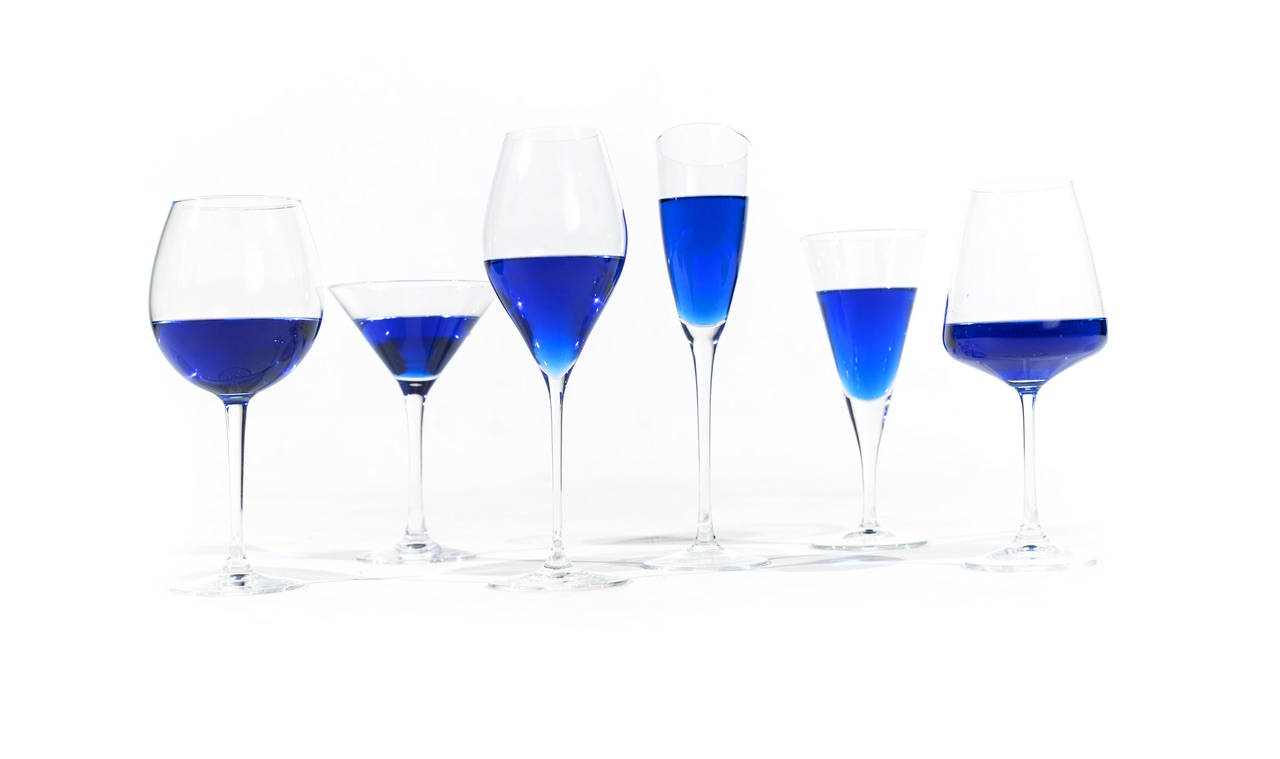 Sick of red and white wine? Well, blue wine is about to be a thing