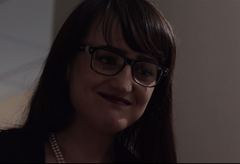 "Mara Wilson just made a return to acting in this gender-swapped ""American Psycho"" clip"