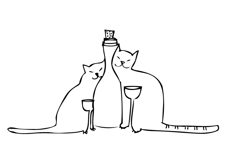 Pinot Meow is the non-alcoholic wine your cat has been waiting for