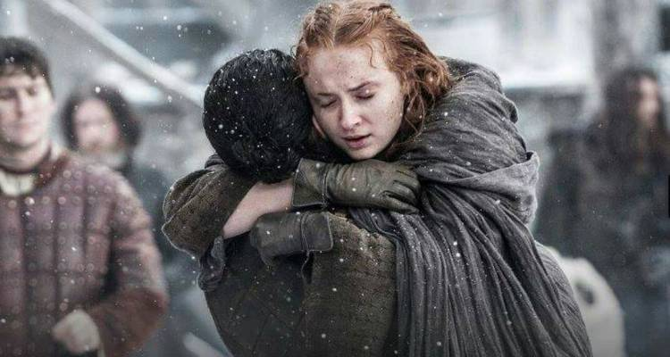 Sophie Turner poured out her heart to Kit Harington when she thought Jon Snow was really dead
