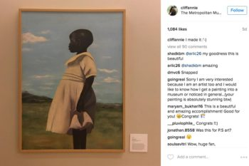 Whoa: This 18-year-old just got a piece of her art in the Met