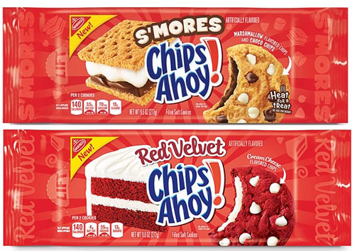 You're gonna want to try these two new Chips Ahoy! flavors