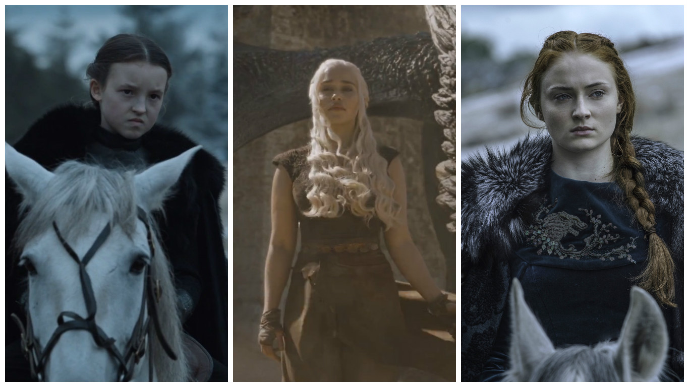 "Ranking the badass lady power moments on last night's ""Game of Thrones"" on a scale of 1 to YAS QUEEN"