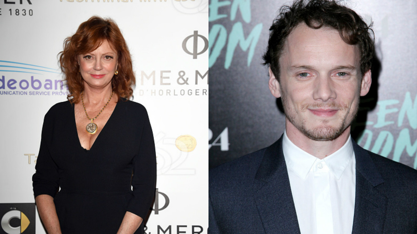 You must read Susan Sarandon's touching tribute to Anton Yelchin