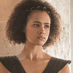 "Missandei just showed us how the ""Game of Thrones"" cast stays in shape between takes"