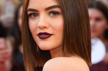 Our fave stars are all wearing dark lipstick and now it's all we want