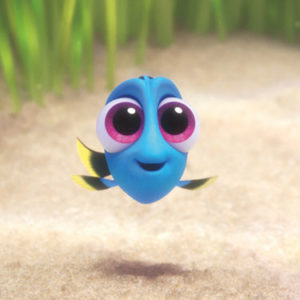 "Seriously, we need to talk about how friggin' cute baby Dory is in ""Finding Dory"""