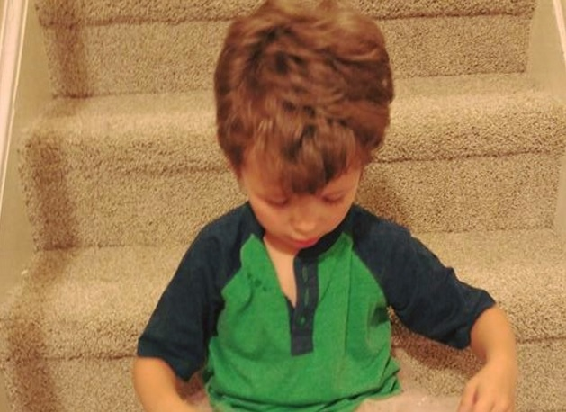 This mom's Facebook post about her son wearing nail polish is warming our hearts