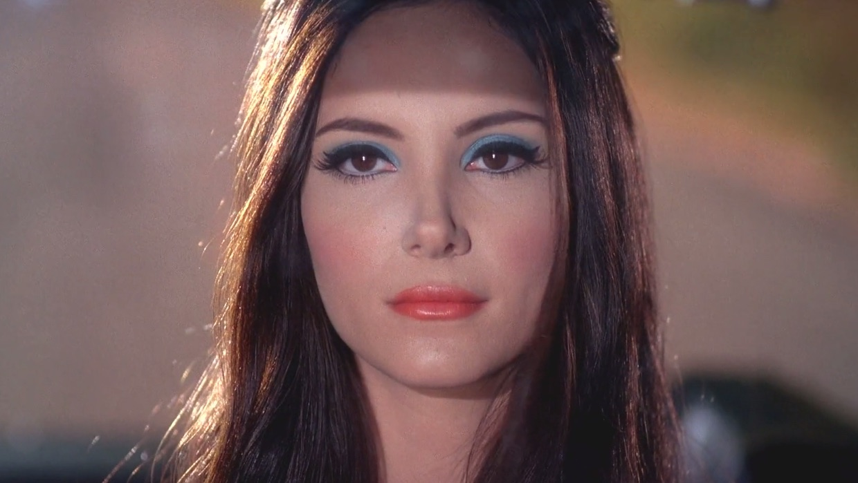 the love witch eye makeup