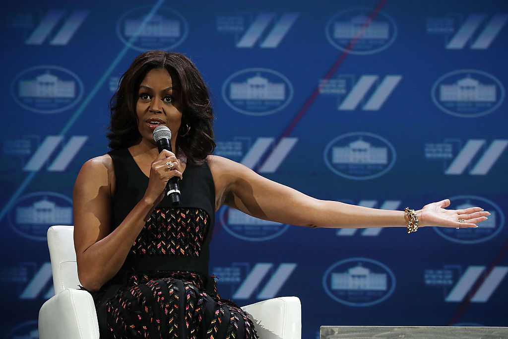 We're actually obsessed with this fun Michelle Obama ringtone