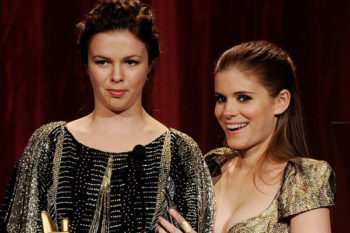 Amber Tamblyn and Kate Mara goofing around in London is the cutest thing you'll see today