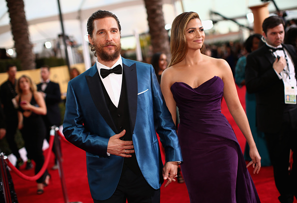 Matthew McConaughey describing how he fell for his wife is basically a romance novel