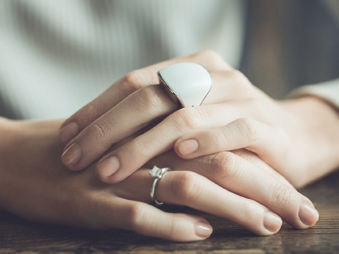 After her own assault, this woman created a ring with a built-in panic button