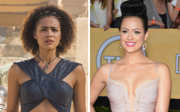 "12 times Missandei set the red carpet on fire outside of ""Game of Thrones"""