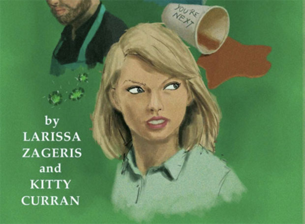 We *need* this Taylor Swift-themed detective book in our lives