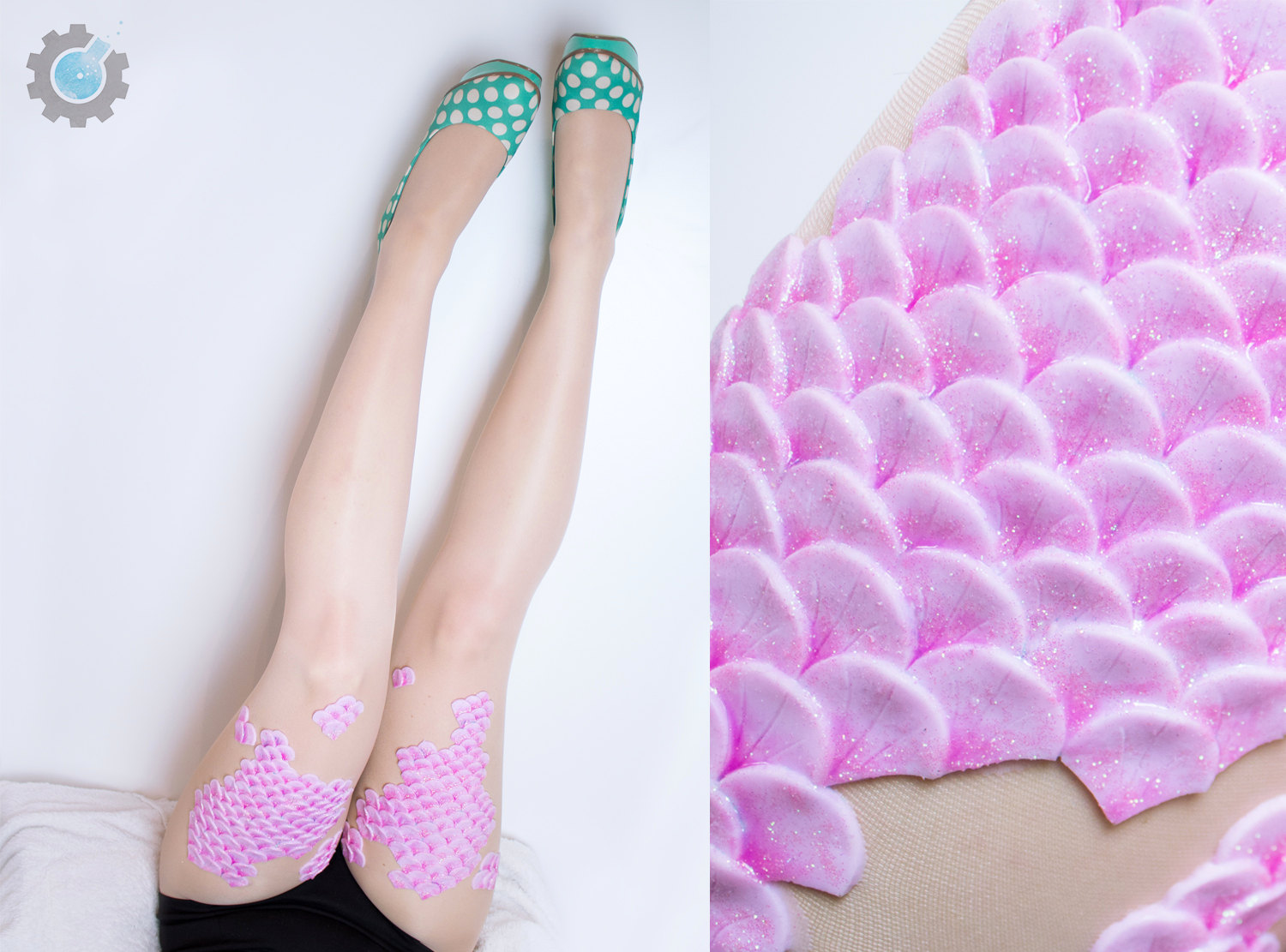 Life dream status: these tights will make you look like a real, live mermaid