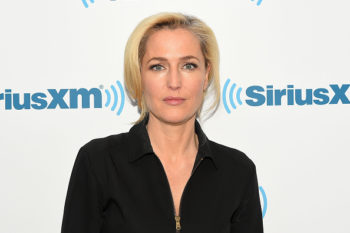 Gillian Anderson admits she feels self-conscious about aging sometimes