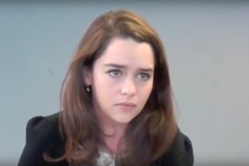 This old Emilia Clarke audition tape is absolutely captivating