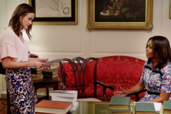 We've got the full video of Rory Gilmore at the White House and it's everything